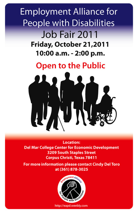 EAPD LOGO and 1st Annual Job Fair Poster : Oct. 11, 2011 OPEN TO THE PUBLIC
